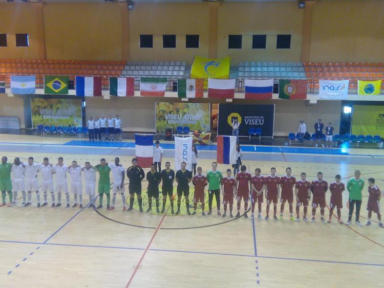 Сборная России по мини-футболу спорта ЛИН заняла четвертое место на чемпионате мира в Португалии