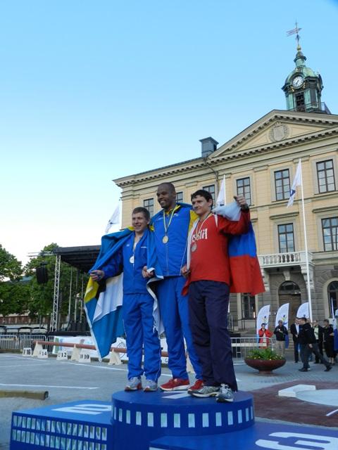 В Швеции прошёл первый день соревнований чемпионата Европы по легкой атлетике  INAS-FID среди спортсменов с интеллектуальными нарушениями
