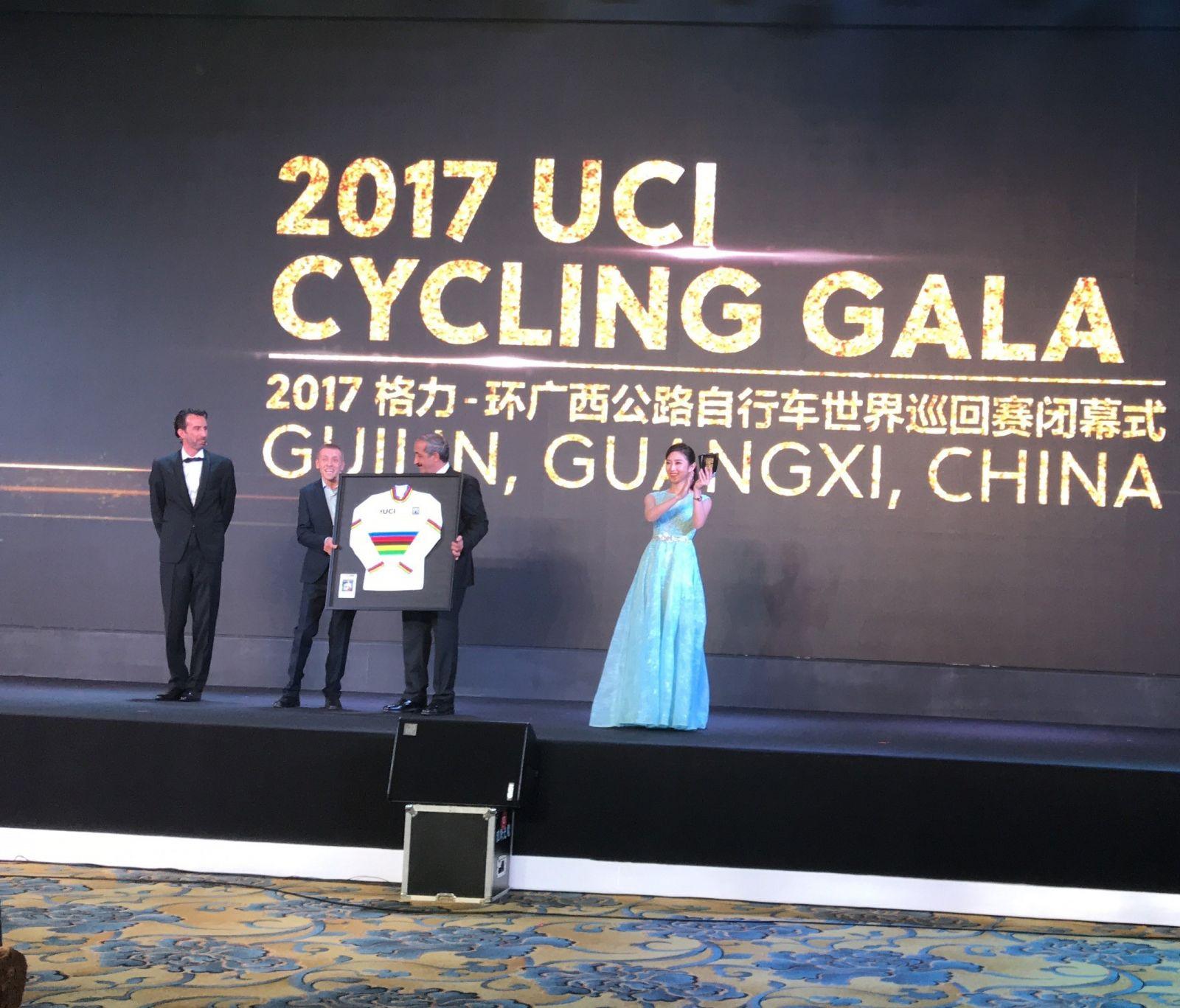 Сергей Семочкин стал обладателем престижной награды Международного союза велосипедистов