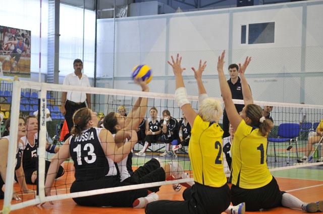 Континентальный кубок Европы по волейболу сидя среди женщин