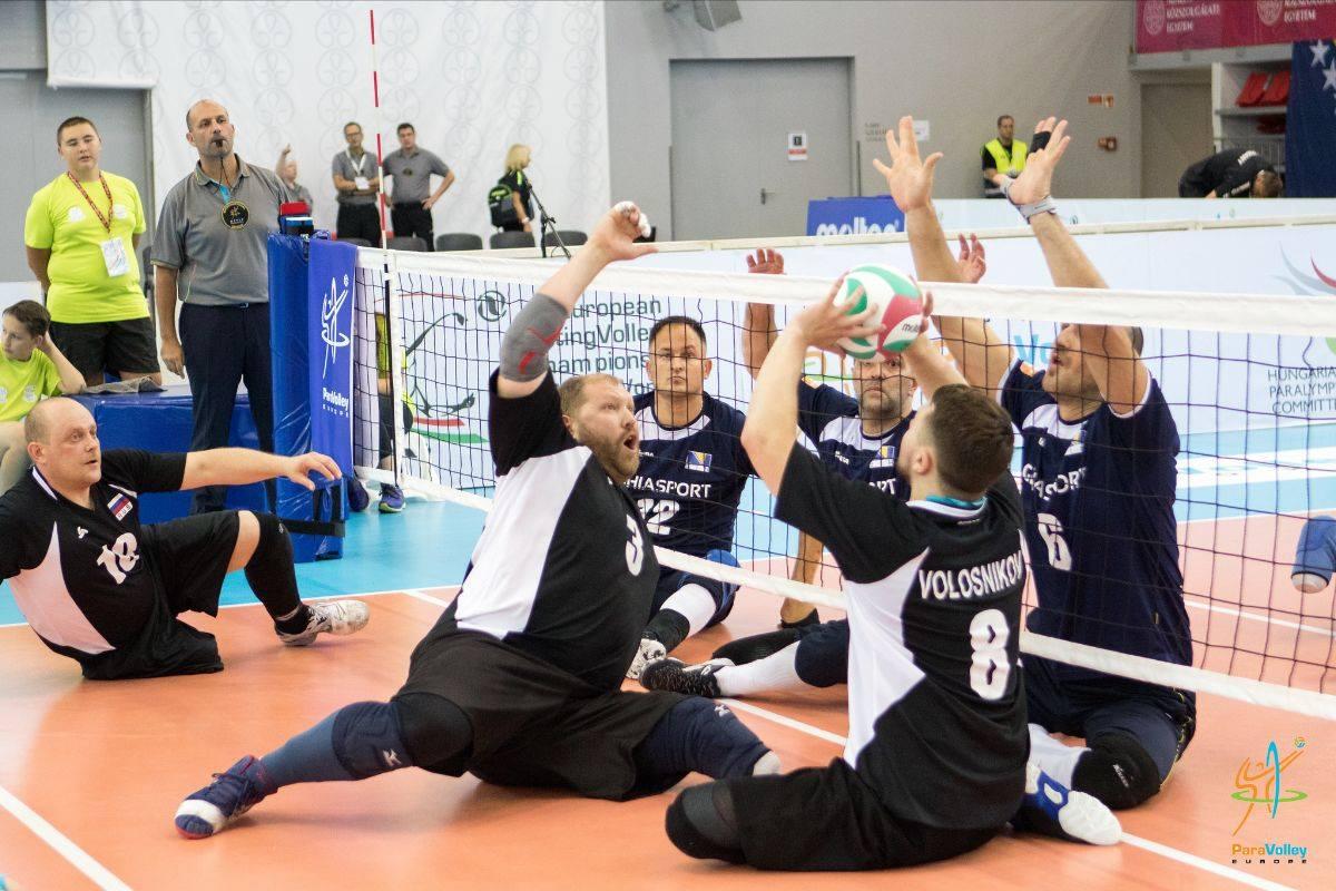 Итоги второго дня чемпионата Европы по волейболу сидя