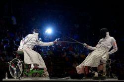 Российские фехтовальщики на колясках одержали три победы на Кубке мира в ОАЭ