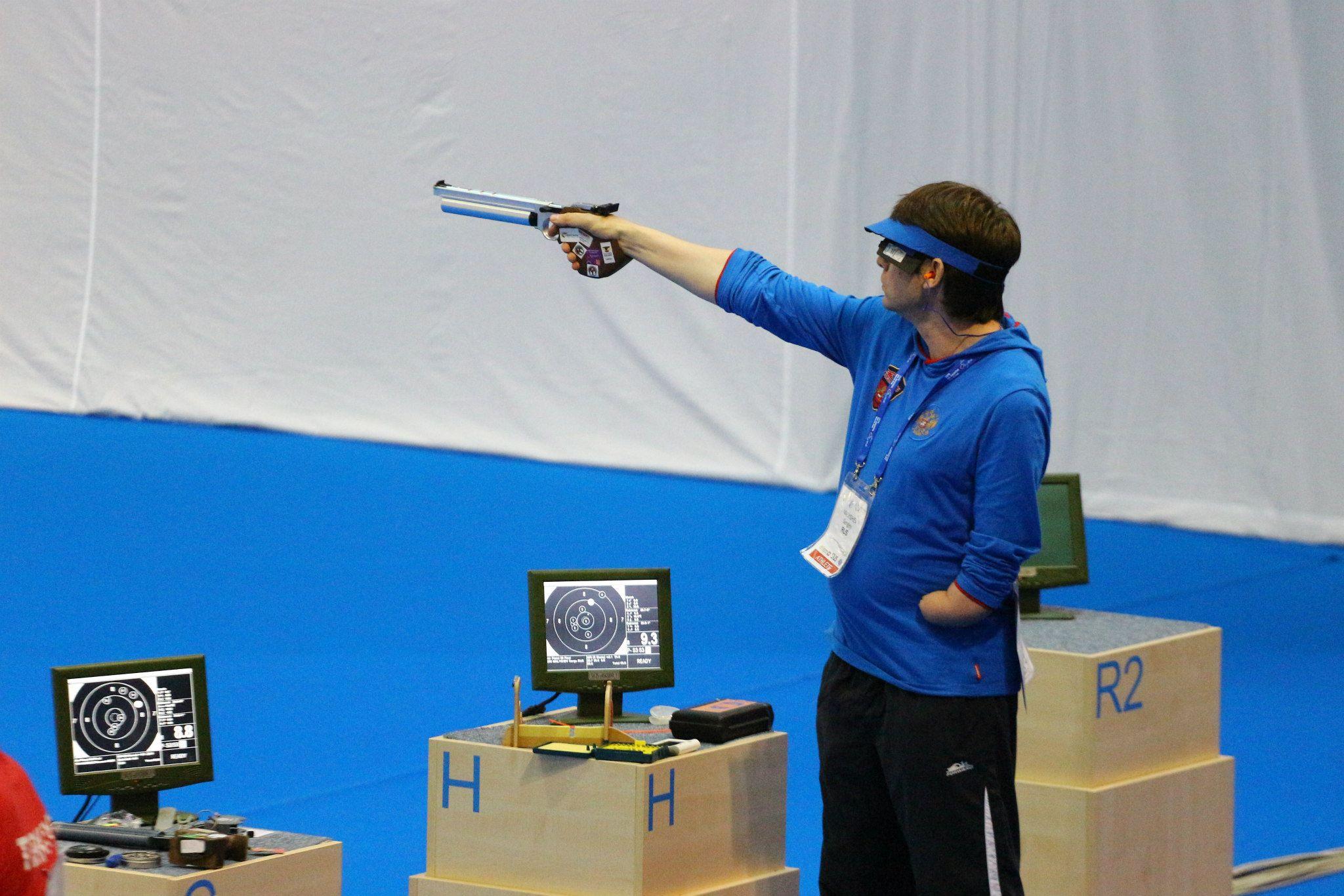Сборная России завоевала 9 медалей на Кубке мира по пулевой стрельбе спорта лиц с ПОДА в Хорватии