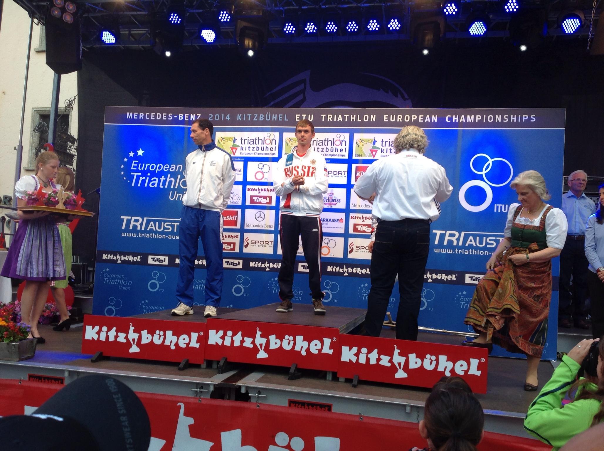 Российские спортсмены завоевали золотую и серебряную медали на чемпионате Европы по триатлону спорта лиц с поражением опорно-двигательного аппарата в Австрии