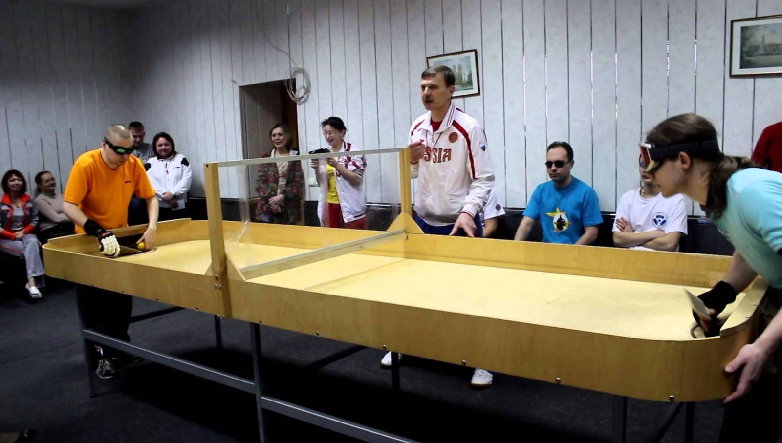 Российские спортсмены нацелены побороться за призовые места на чемпионате мира по настольному теннису спорта слепых в Швеции