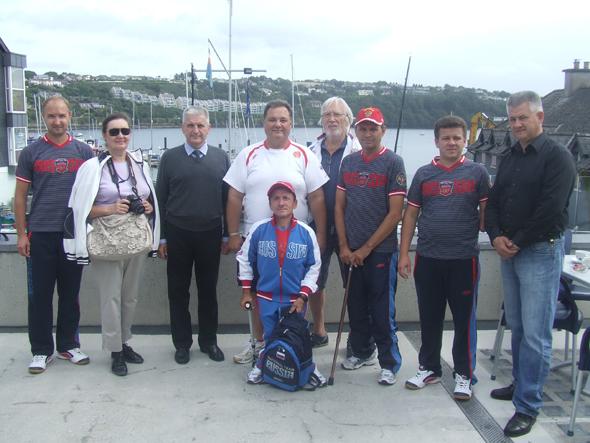 Представители  Посольства Российской Федерации в Ирландии встретились с членами сборной команды России по парусному  спорту среди лиц с поражением опорно-двигательного аппарата,  которые прибыли в Ирландию для участия в чемпионате мира