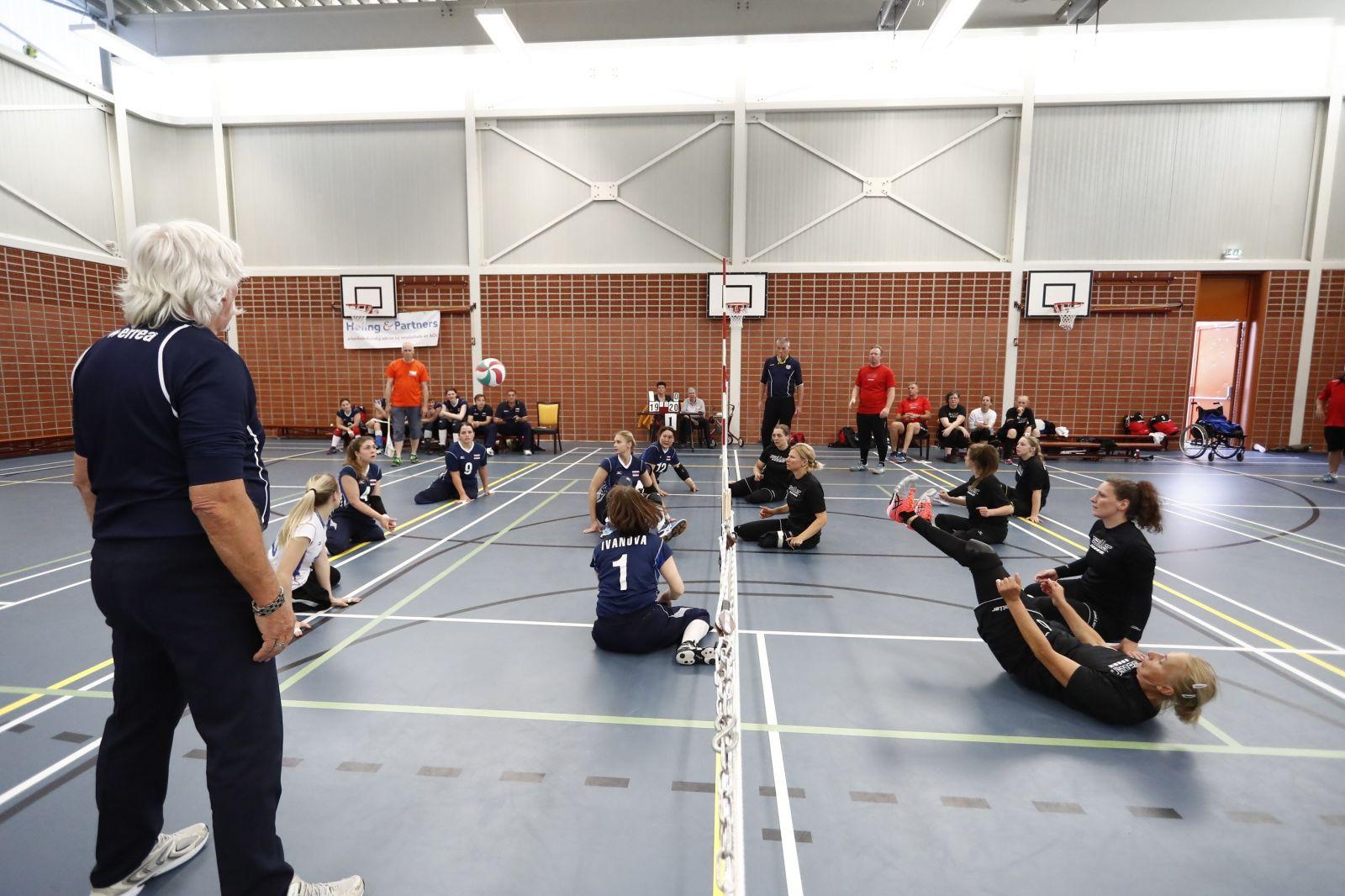 Женская сборная команда России по волейболу сидя стала победителем международного турнира в Нидерландах
