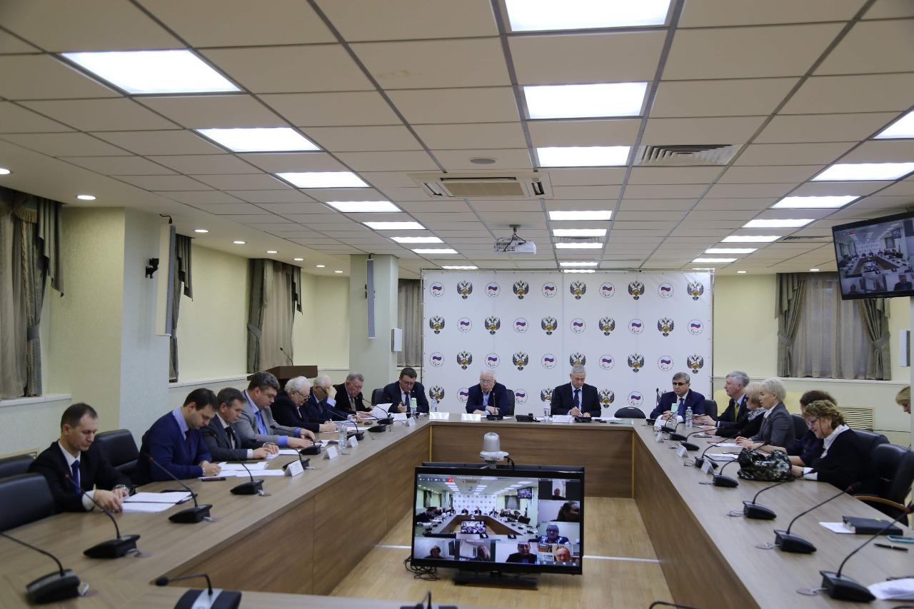 Пресс-релиз по итогам заседания Исполкома Паралимпийского комитета России 15 января 2020 года