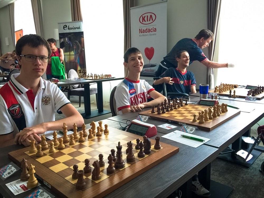 12 российских спортсменов принимают участие в чемпионате мира по шахматам спорта лиц с ПОДА в Чехии