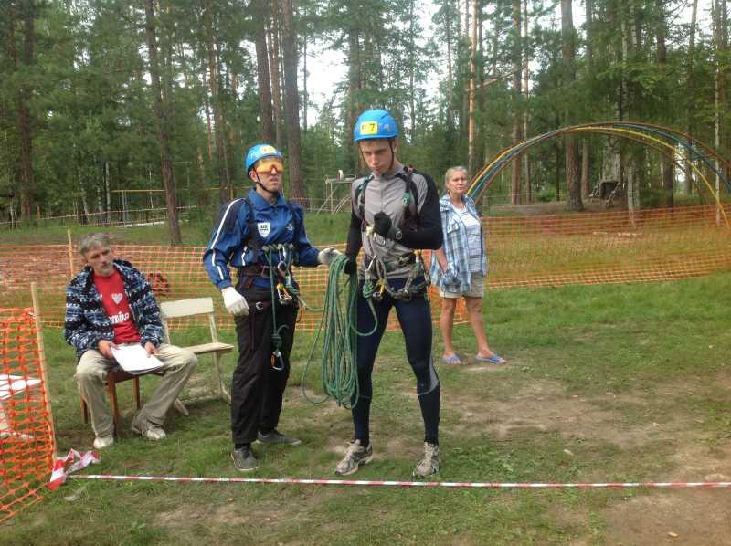 Около 100 спортсменов принимают участие в чемпионате России по спортивному туризму спорта слепых