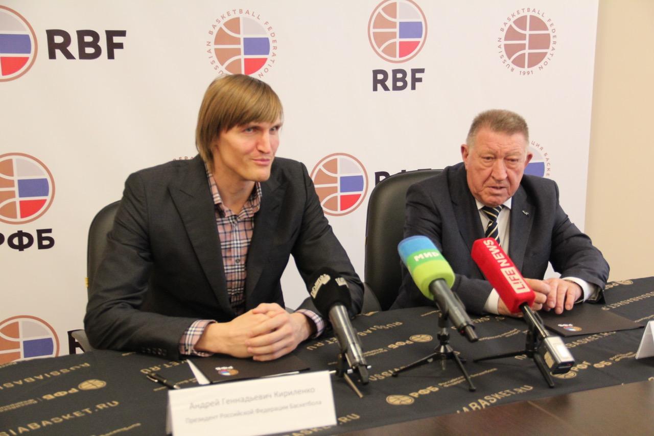 Л.Н. Селезнев в г. Москве подписал соглашение между Всероссийской Федерацией спорта лиц с ПОДА и Российской Федерацией Баскетбола