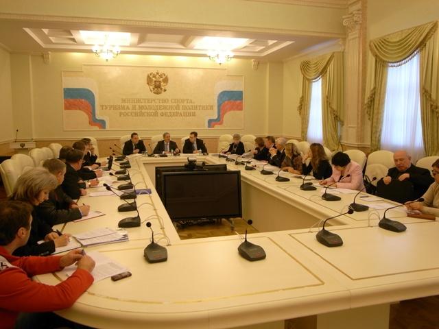 В Минспорттуризме России состоялось заседание Рабочей группы по подготовке к XIV Паралимпийским летним играм 2012 года в Лондоне (Великобритания)