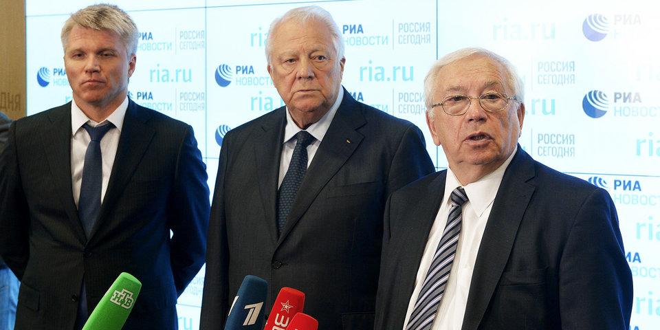 В.П. Лукин в Международном мультимедийном пресс-центре МИА «Россия сегодня» принял участие в заседании Независимой общественной антидопинговой комиссии