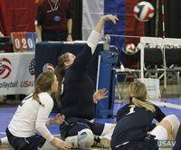 Женская сборная команда России по волейболу сидя выиграла международные соревнования в США