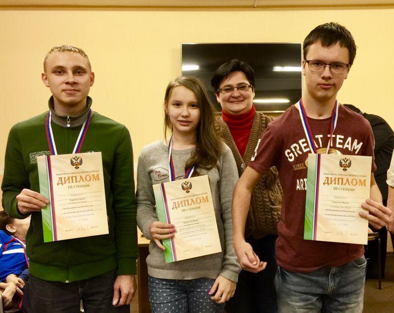 Сборные Пензенской области и Республики Мордовия стали победителями командного первенства России по шахматам и шашкам
