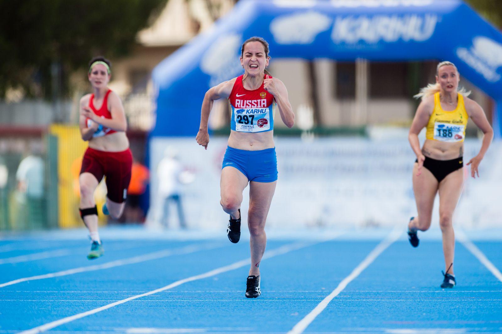 Российские спортсмены 22 раза возглавили итоговый протокол открытого чемпионата Италии – этапа гран-при по легкой атлетике Международного паралимпийского комитета