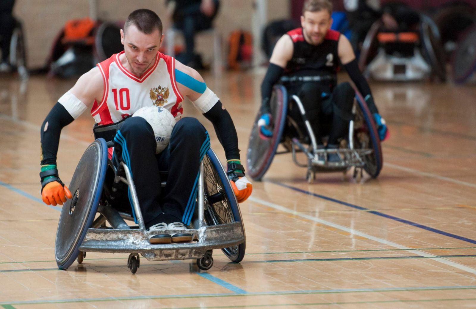 Сборная команда России по регби на колясках приняла участие в международном турнире Egmont Open в Дании