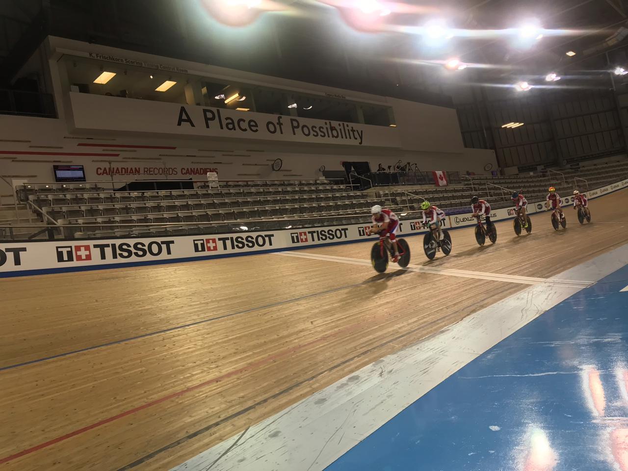 Сборная России по велоспорту лиц с ПОДА примет участие в чемпионате мира на треке в Канаде
