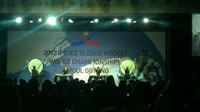 """В  г. Гоянг  (Южная Корея) стартовал Чемпионат мира по хоккею-следж в группе """"А"""""""