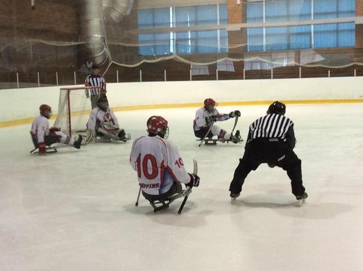 Команды из шести регионов вступили в борьбу за звание чемпиона России по хоккею-следж