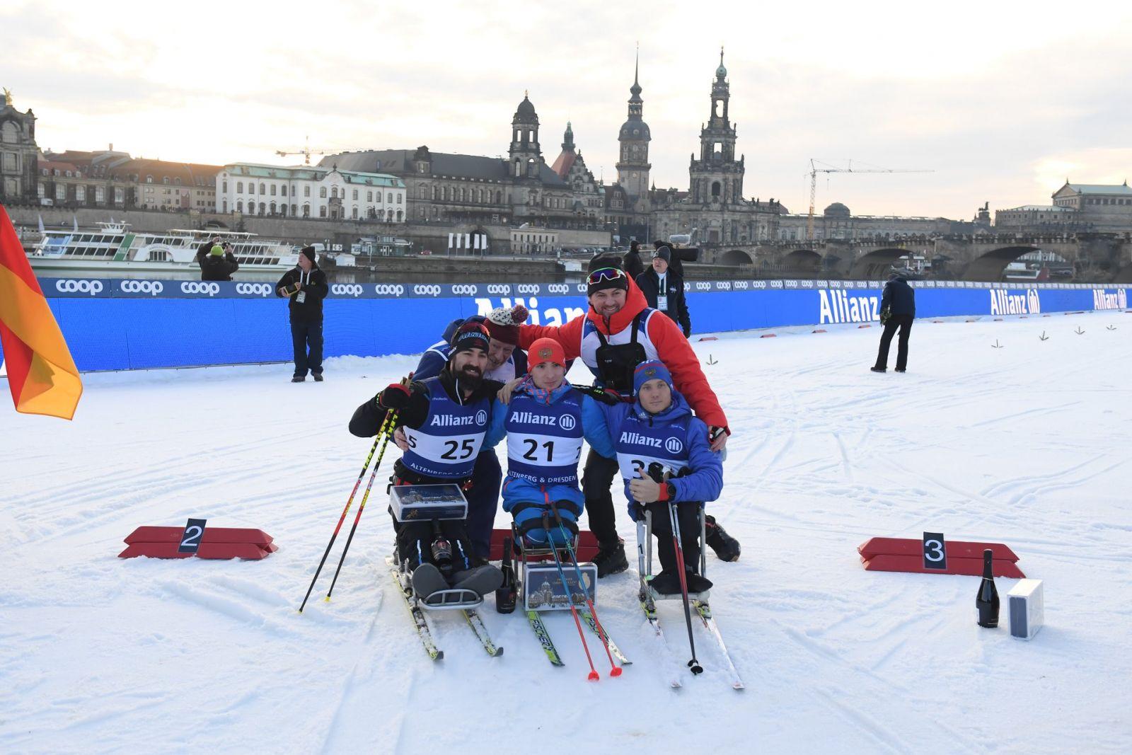6 золотых и по 3 серебряные и бронзовые медали завоевала сборная России по итогам 4-х дней Кубка мира по лыжным гонкам и биатлону МПК в Германии