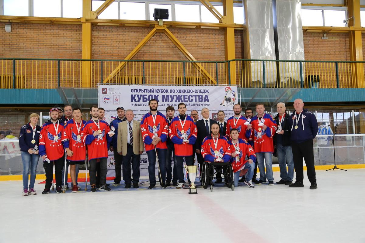 СХК «Феникс» стал победителем Открытого Кубка по хоккею-следж «Кубок Мужества»