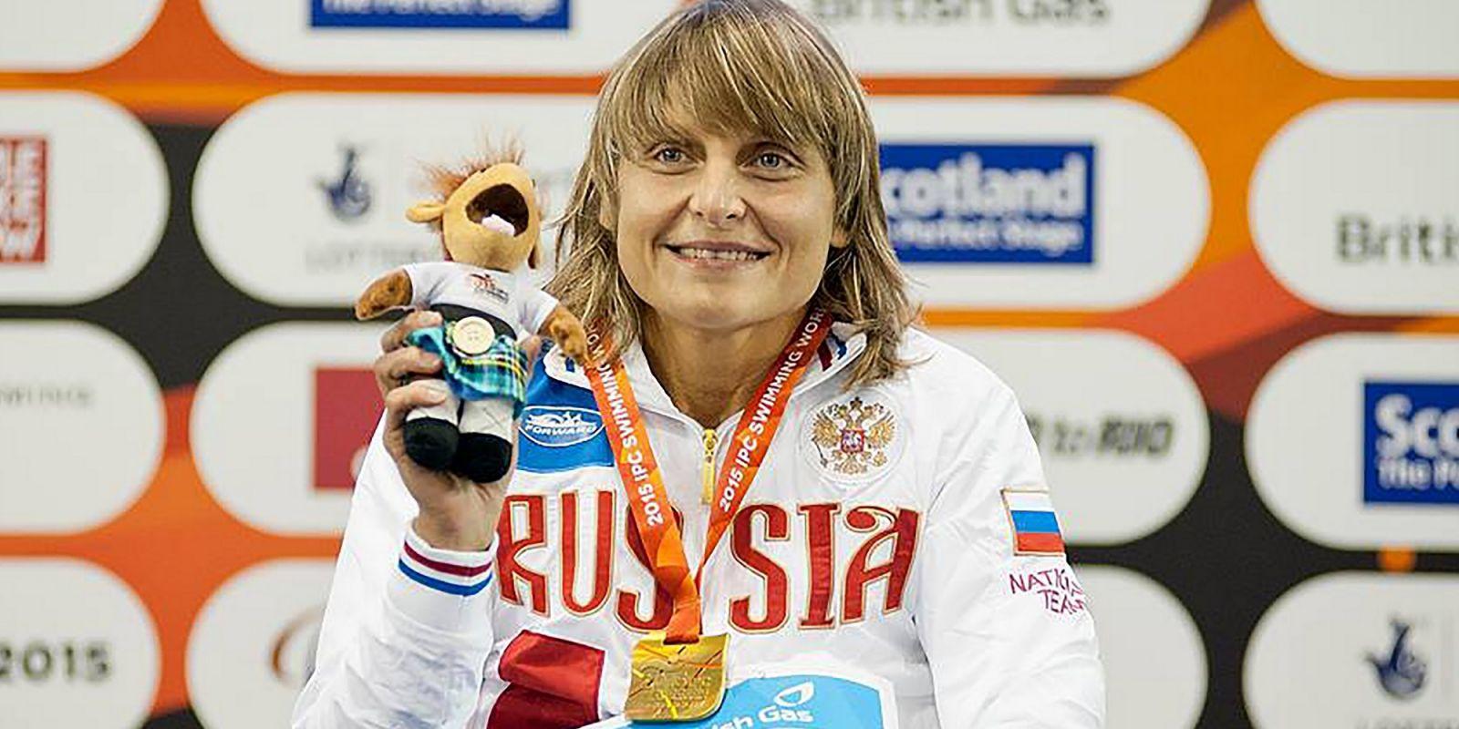 #тренимвместе с чемпионкой мира по плаванию спорта лиц с ПОДА Натальей Гаврилюк
