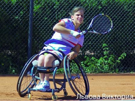 Виктория Львова выиграла международный турнир по теннису на колясках Мегафон Dream Cup 2014
