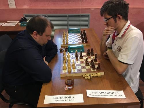В Костроме завершился чемпионат России по шахматам спорта слепых