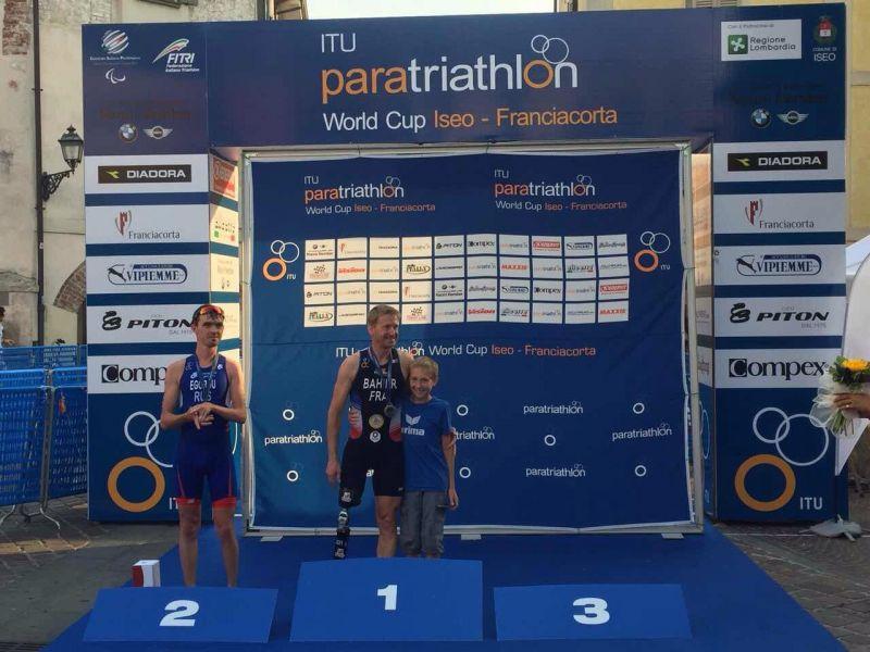 Российские паратриатлонисты завоевали пять наград на этапе Кубка мира в Италии