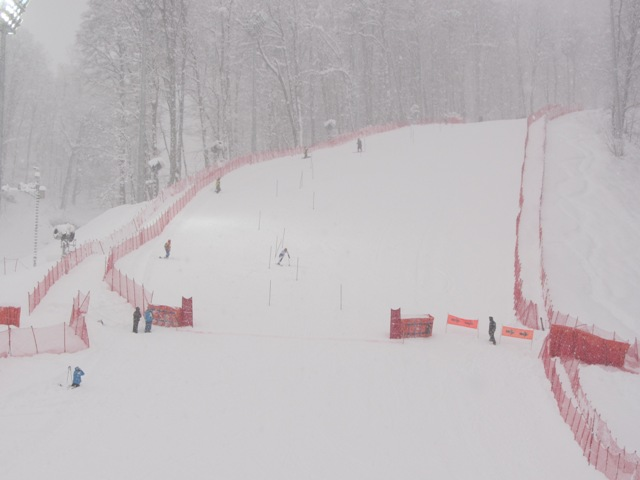 В г. Сочи прошел второй день Чемпионата России по горнолыжному спорту среди  инвалидов с поражением опорно-двигательного аппарата и нарушением зрения