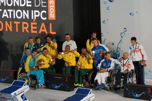 В третий соревновательный день чемпионата  мира по плаванию спорта лиц с поражением опорно-двигательного аппарата, спорта слепых и спорта лиц с интеллектуальными нарушениями  сборная команда России завоевала 2 золотые, 2 серебряные и 3 бронзовые медали