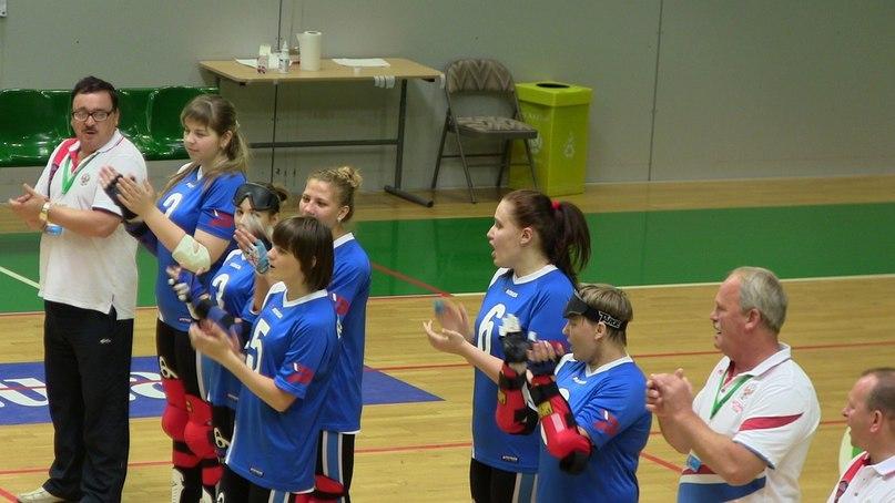 Женская сборная России по голболу стала победителем престижного международного турнира в Швеции