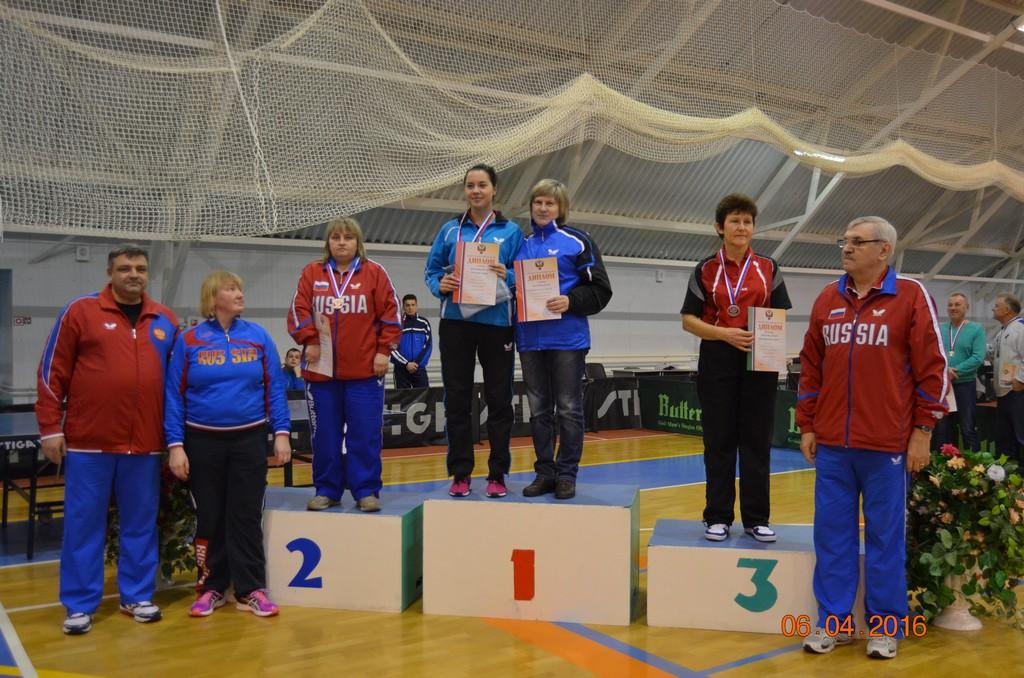 В Чувашии завершился чемпионат России по настольному теннису спорта лиц с поражением опорно-двигательного аппарата