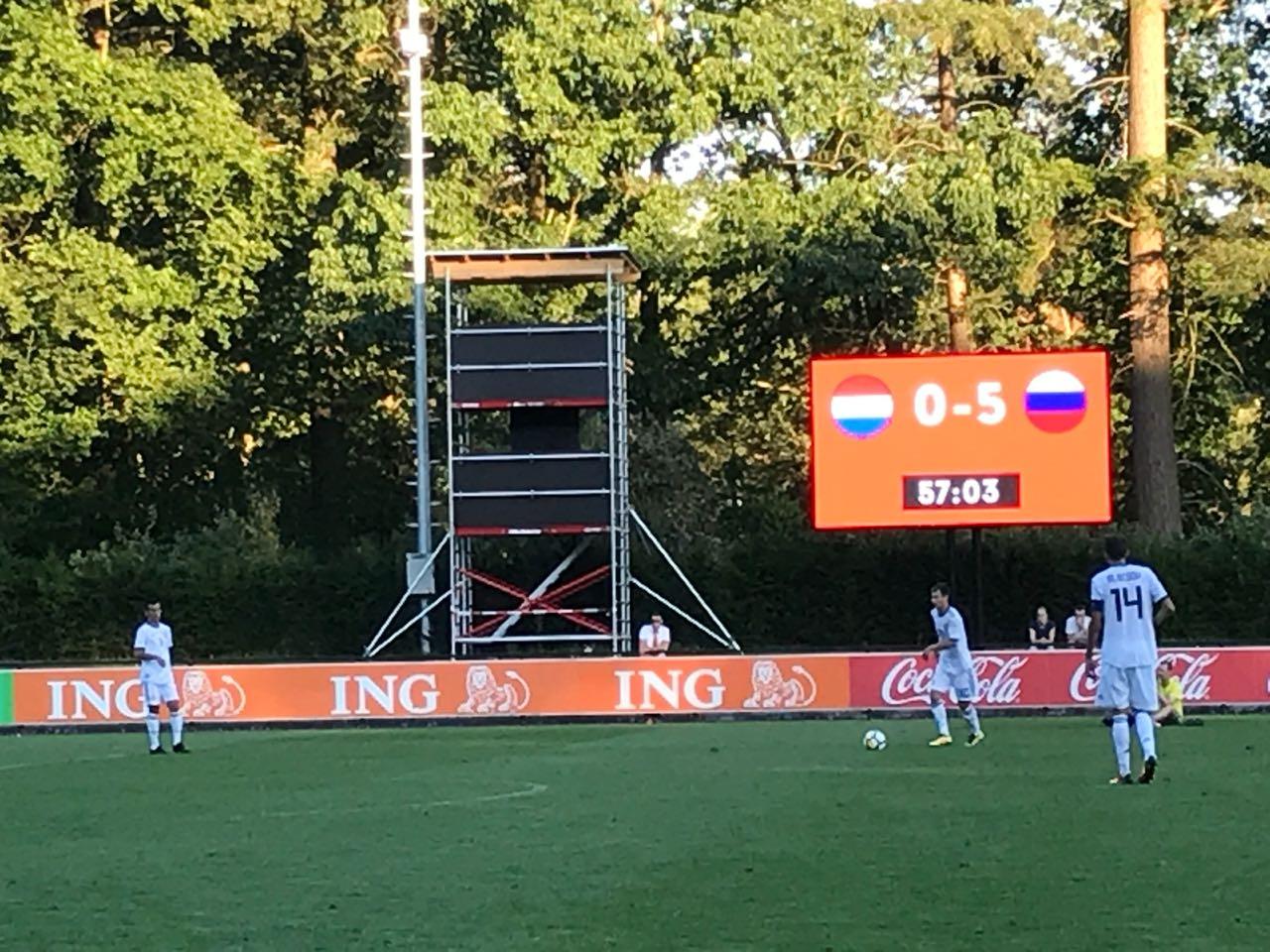 Сборная команда России в полуфинале чемпионата Европы по футболу 7х7 спорта лиц с заболеванием ЦП нанесла поражение сборной Нидерландов со счетом 5-0