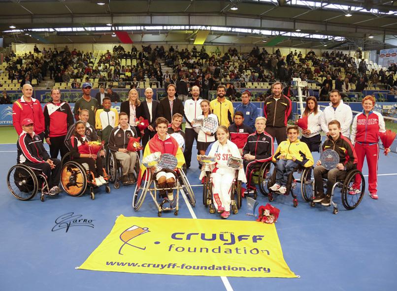 Представительница Подмосковья Виктория Львова выиграла чемпионат мира среди юниоров по теннису на колясках