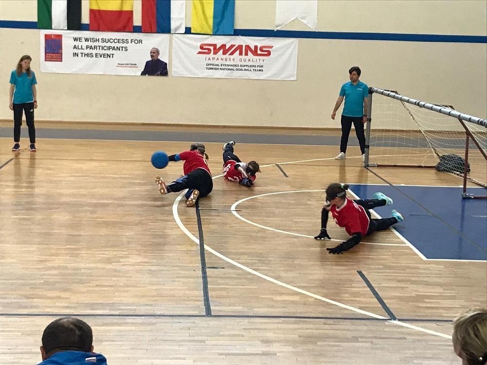 Женская сборная команда России по голболу спорта слепых примет участие в международных соревнованиях в Испании