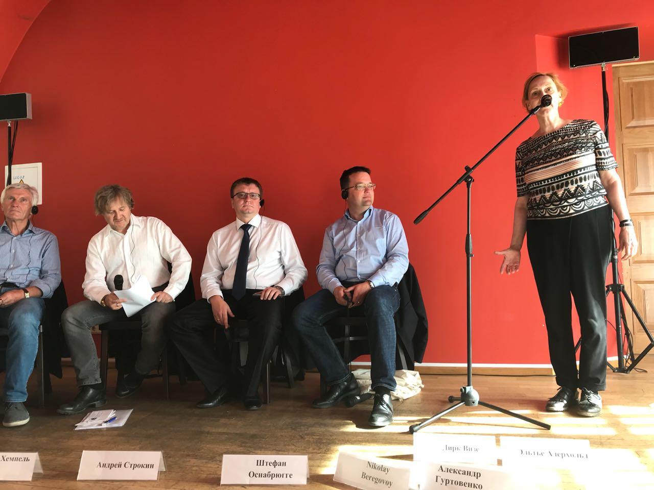А.А. Строкин в г. Санкт-Петербурге принял участие в Круглом столе по вопросам развития футбола инвалидов, а также в фестивале спорта без границ – «Есть контакт!»