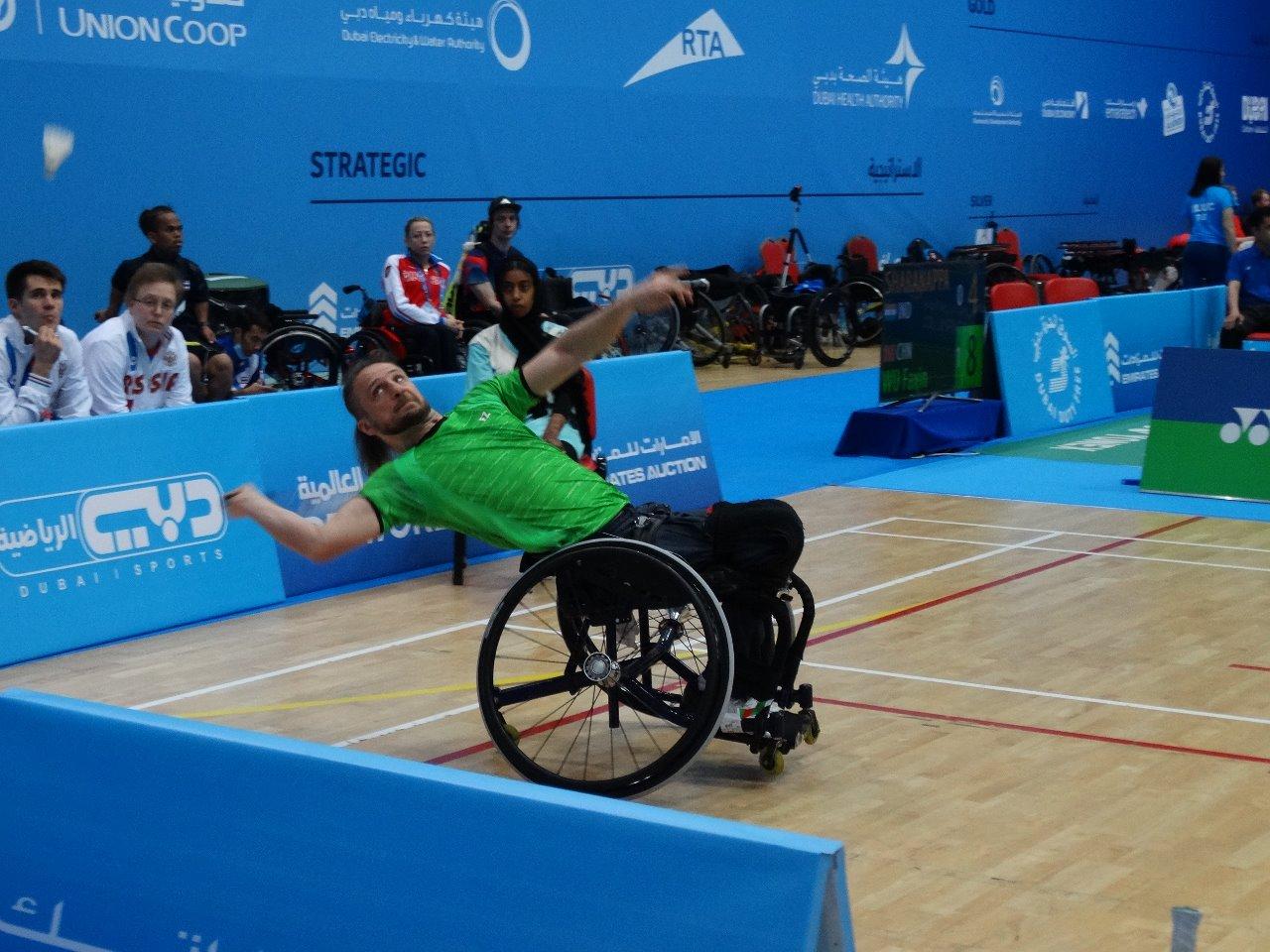 Константин Афиногенов стал бронзовым призером международного турнира по парабадминтону - 2nd Fazza- Dubai Para-Badminton International 2019