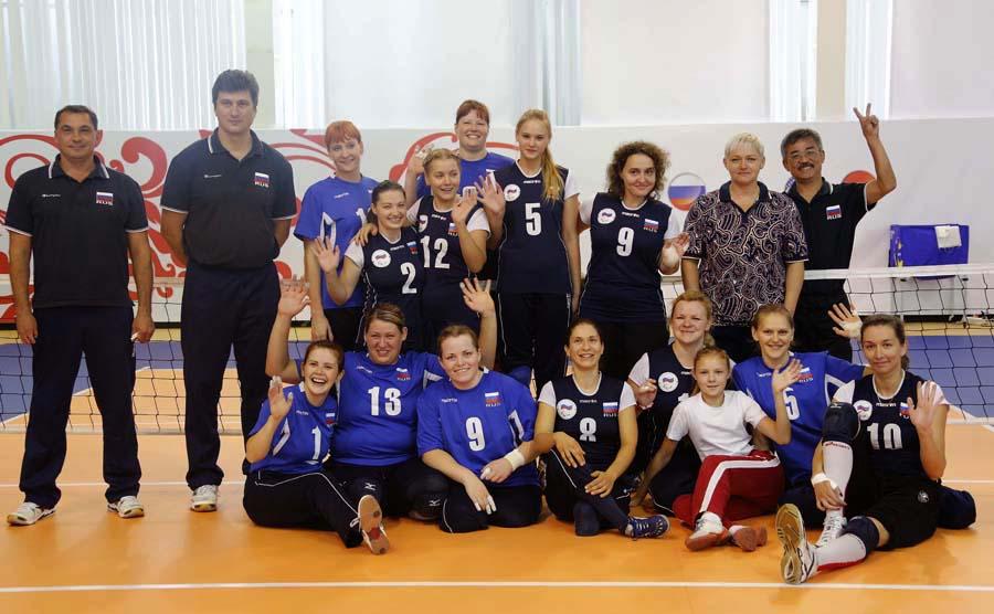 Российские волейболистки в рамках подготовки к XV Паралимпийским играм примут участие в международном турнире в США