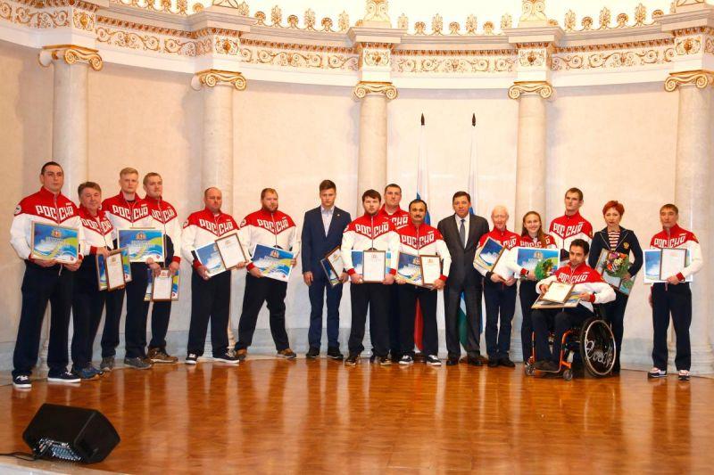 Губернатор Свердловской области Е.В. Куйвашев встретился со спортсменами-паралимпийцами – представителями региона