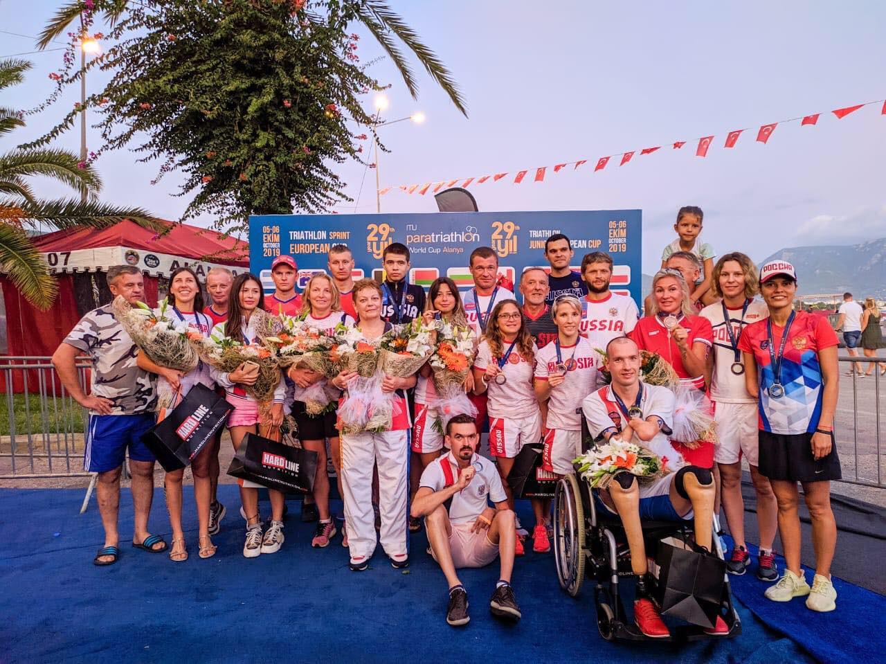 Сборная команда России по паратриатлону выиграла командный зачет Кубка мира в Турции