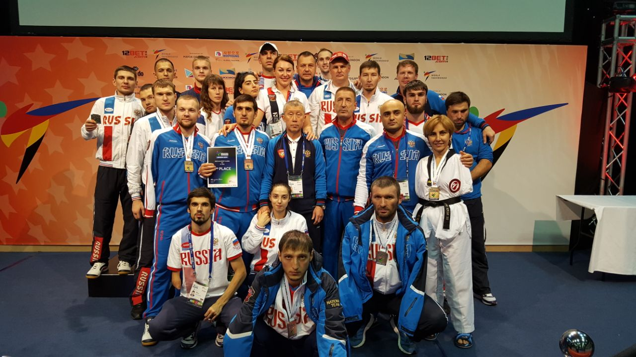 Сборная России по паратхэквондо выиграла командный зачет на чемпионате мира в Великобритании