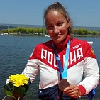 #trainingtogether with the repeated prize winner of the World championships, two time European champion in Para Rowing and Canoeing among PI Athletes Nadezhda Andreeva