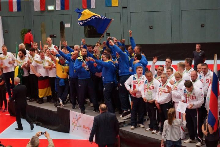 Мужская сборная России завоевала бронзовые медали на чемпионате Европы по волейболу сидя
