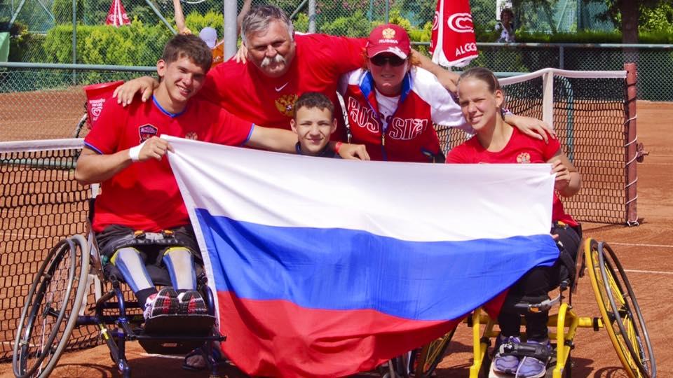 Российские юниоры стали бронзовыми призерами командного первенства мира по теннису на колясках в Турции