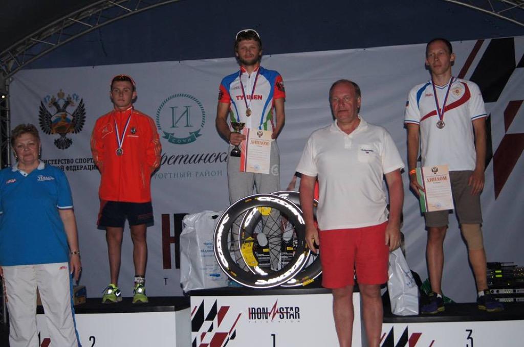 Спортсмены семи регионов страны стали победителями чемпионата России по паратриатлону в Сочи