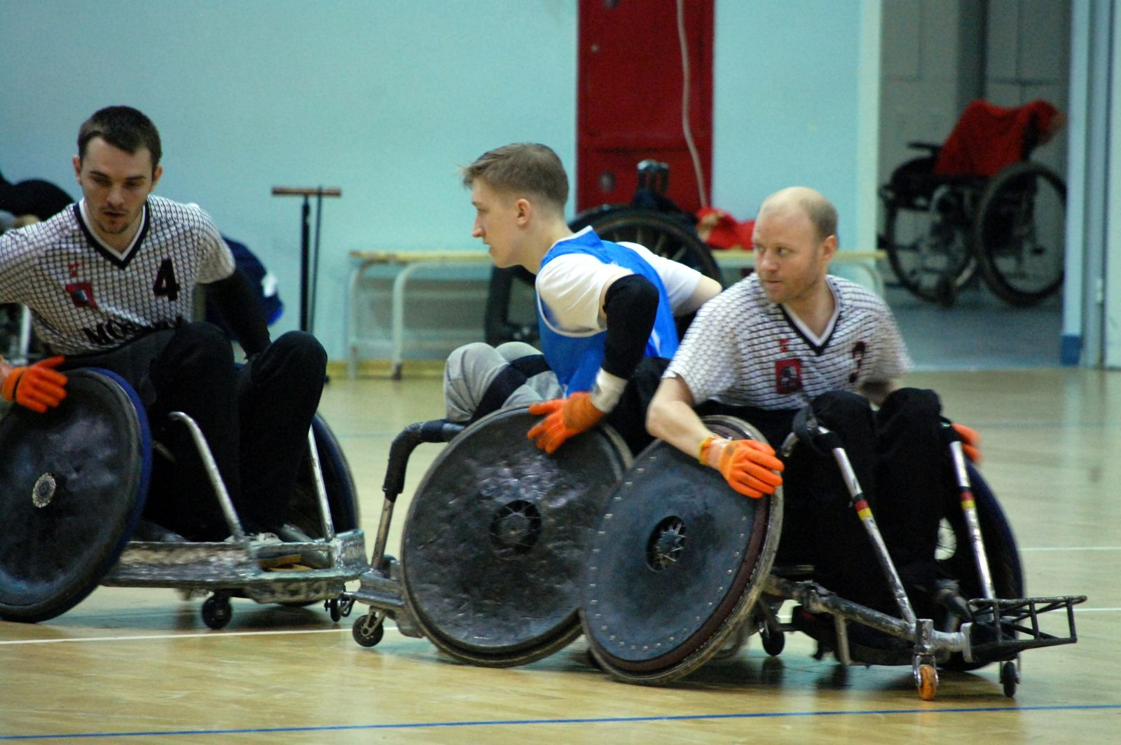 Сборная Москвы стала победителем 1 круга чемпионата России по регби на колясках