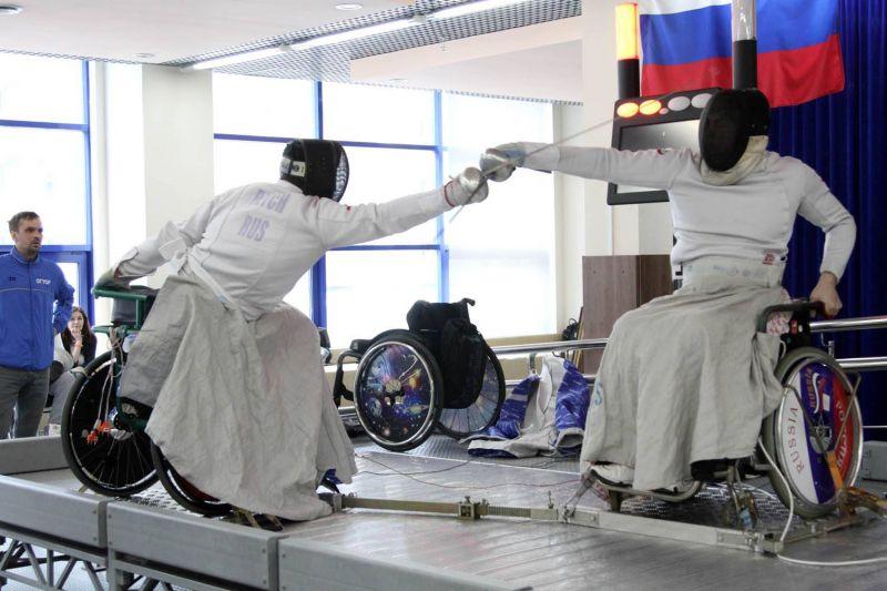 Сборная Москвы стала победительницей общекомандного зачета чемпионата России по фехтованию на колясках