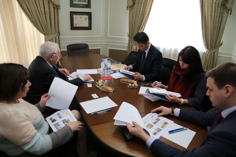 В.П. Лукин провел рабочую встречу с Министром-советником посольства Японии в России Котаро Оцуки